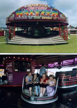 Modern Fairground Amusements And Rides Hire
